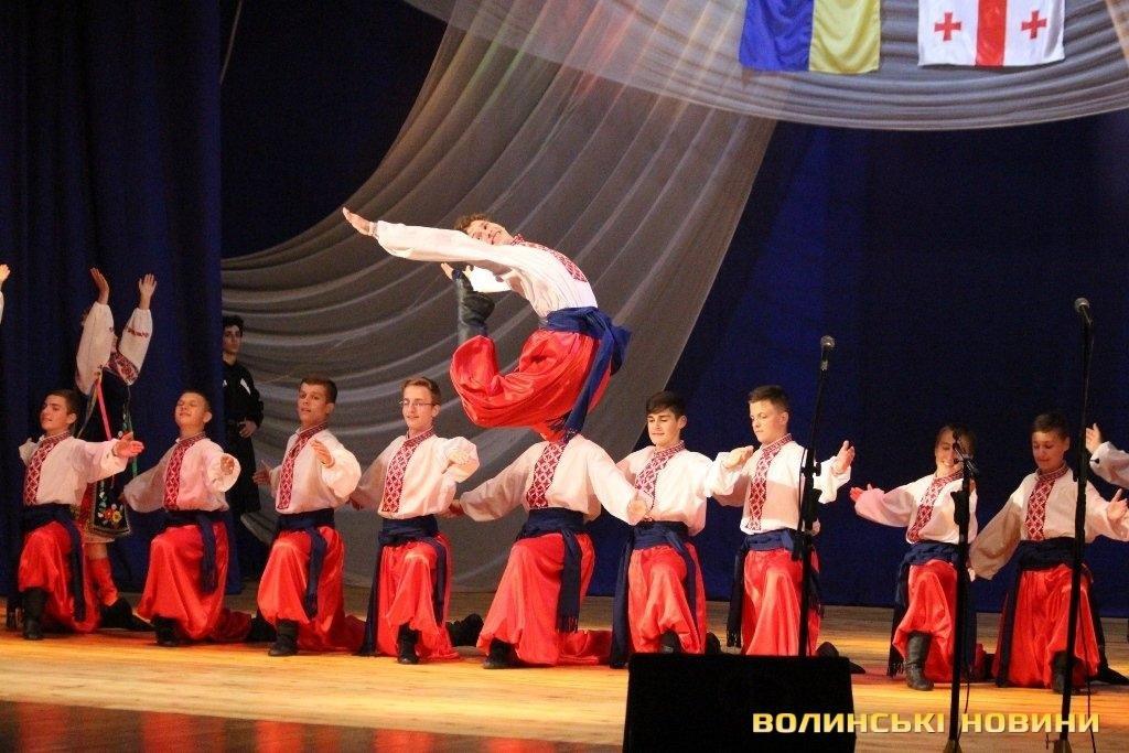 Грузинський ансамбль «запалював» луцьку публіку (ФОТО), фото-8