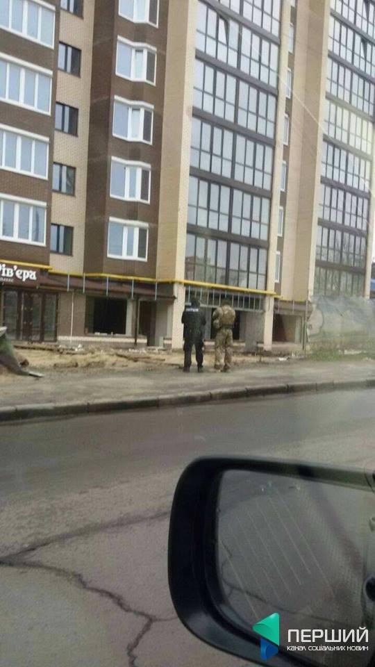 Будівництво луцької «Рів'єри» відвідують правоохоронці, фото-1