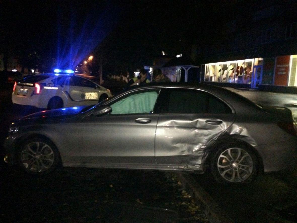 Нічна аварія у Луцьку за участі п'яного водія, фото-1