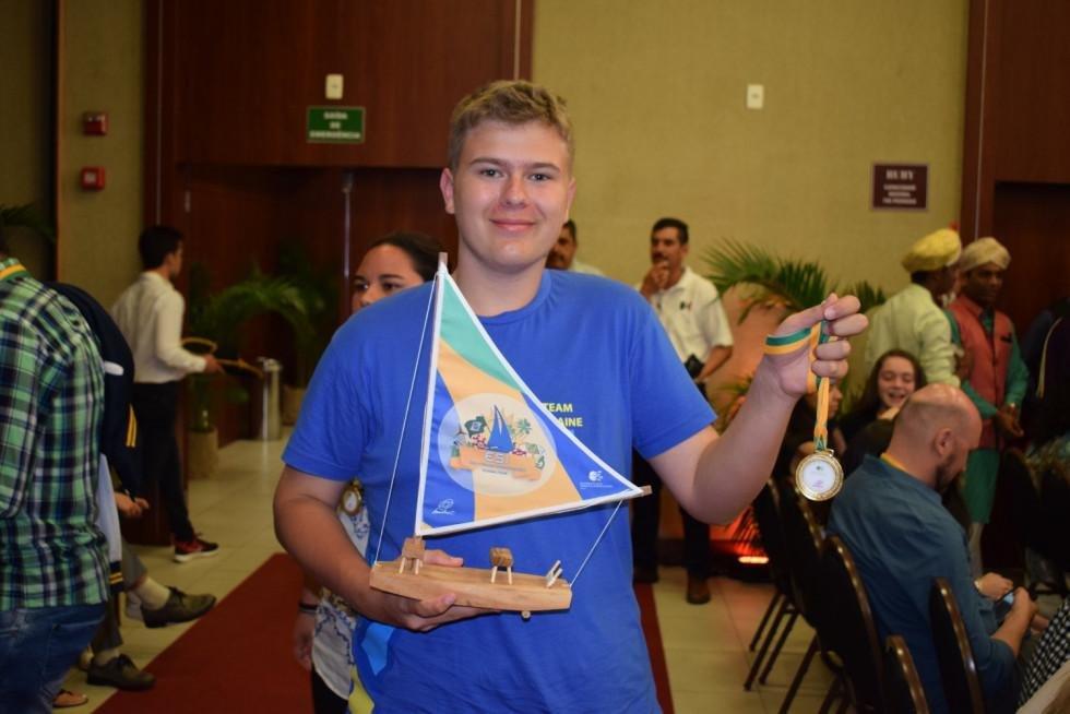 Луцький школяр презентував свій безпілотник у Бразилії, фото-1