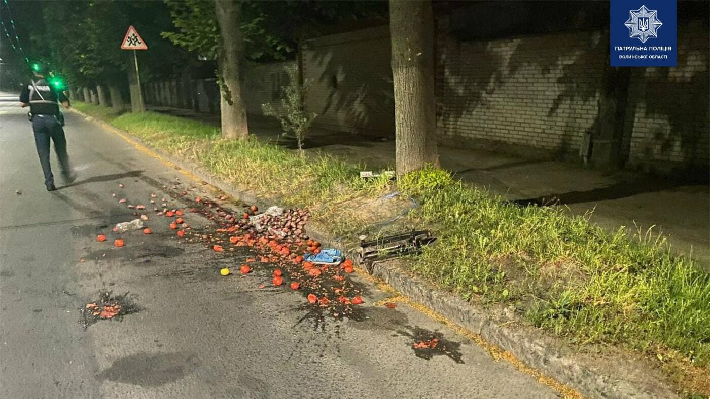 Волинські патрульні по гарячих слідах віднайшли чоловіка, який викрав бус з овочами, фото-2