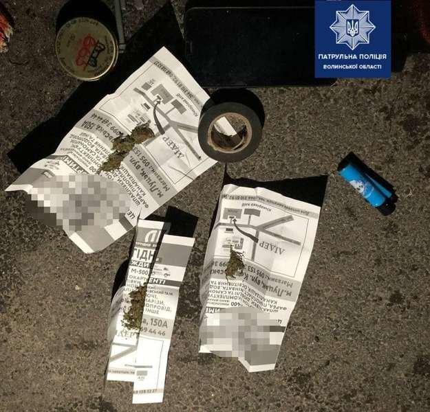 У Луцьку вночі затримали молодиків із наркотиками, фото-2