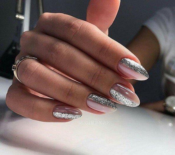 Маникюр Шеллак На Овальные Ногти Фото